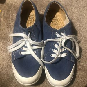 VEGAN Dansko Denim Non Slip Sneakers Size 9